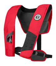 MD2981 Manual Inflatable PFD red