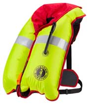 MD2981 Manual Inflatable PFD inflated