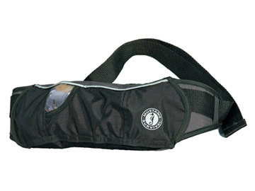 MD3075 inflatable belt pack PFD
