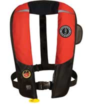 MD3183 HIT automatic inflatable PFD red