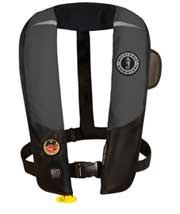 MD3183 02 hydrostatic automatic inflatable pfd gray