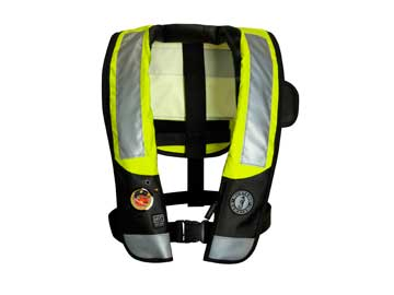 MD3183 T3 ANSI high visability auto inflatable pfd