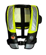 MD3183 T3 ANSI HIT automatic inflatable PFD with SOLAS reflective tape
