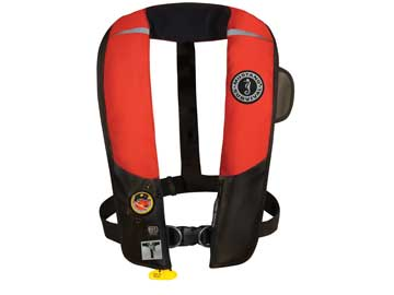 MD3184 automatic inflatable HIT with sailing harness