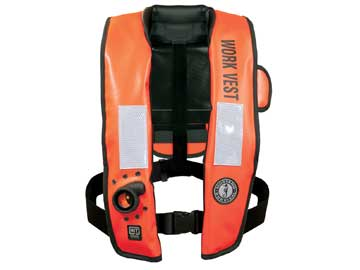 MD3188 auto inflatable work vest