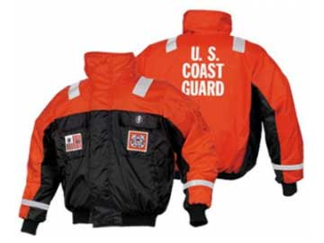 mj6214 v22 united states coast guard flotation bomber jacket