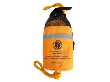 mrd075 75 foot throw bag ring buoy from mustang survival