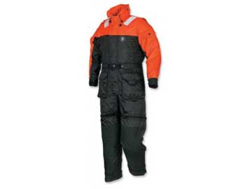MS2175 anti-exposure coverall flotation worksuit