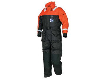 ms217534 uscg aux anti exposure worksuit coverall