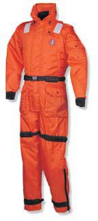 MS2175 Deluxe Anti-Exposure Coverall Worksuit by Mustang Survival in orange