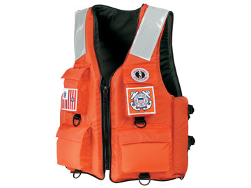 mv3128 22 united states coast guard flotation boat crew vest