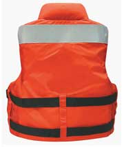 MV5600 high impact water rescue sar vest back