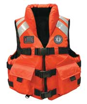 MV5600 high impact water rescue sar vest front