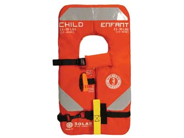 MV8035 type 1 life jacket